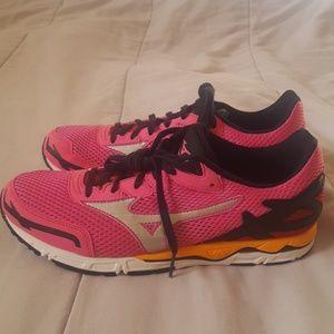 Mizuno Running Shoes New Pink Black W 10